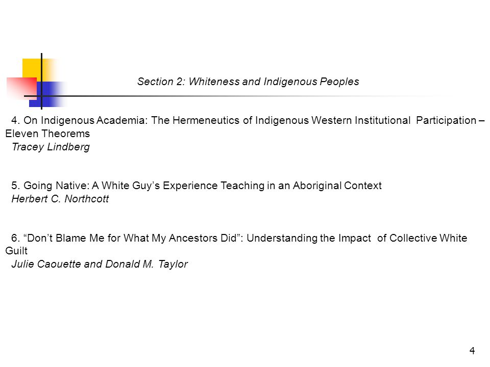 4 Section 2: Whiteness and Indigenous Peoples 4. On Indigenous Academia: The Hermeneutics of Indigenous Western Institutional Participation – Eleven T