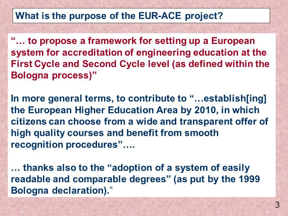 14 Partners FEANI SEFI CESAER EUROCADRES ENQHEEI UNIFI/TREE ASIIN (DE) C.T.I.