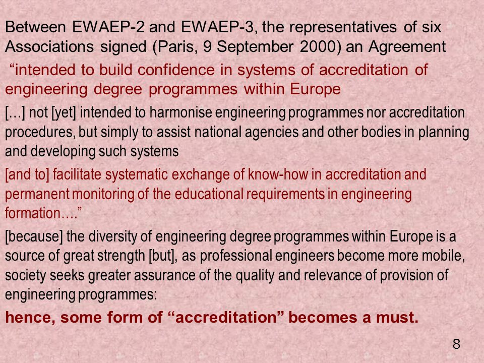 … and in any case we must avoid the heavy bureaucracy too often implied by EU procedures … 49