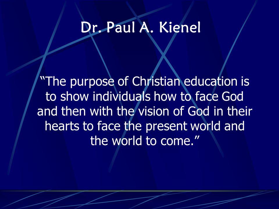 Dr. Paul A.