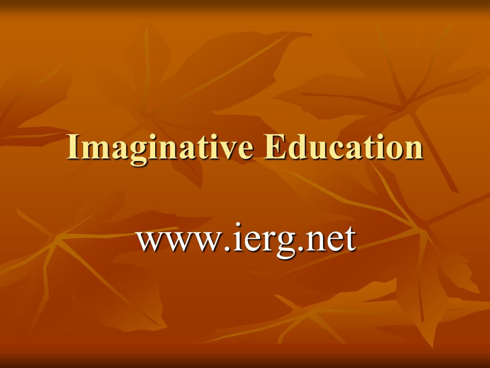 Vygotskys Theories Several of Vygotskys theories are the cornerstone of imaginative education.