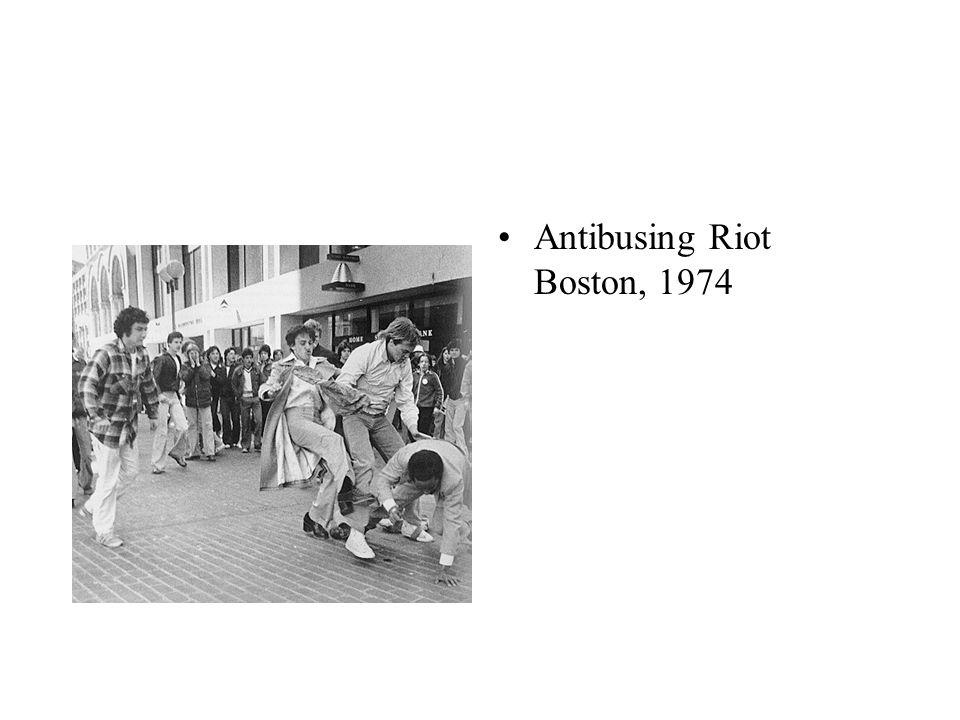 Antibusing Riot Boston, 1974