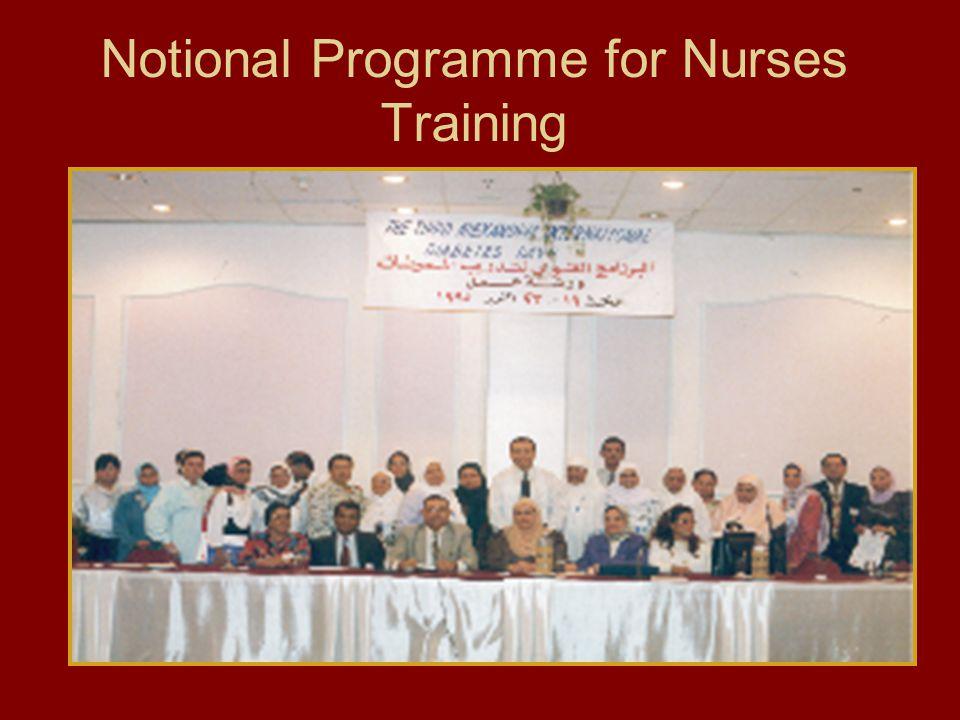 Notional Programme for Nurses Training