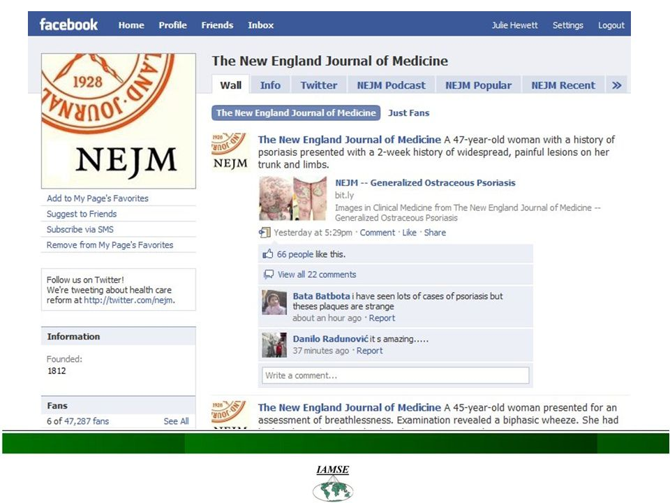 Facebook in Medical Education