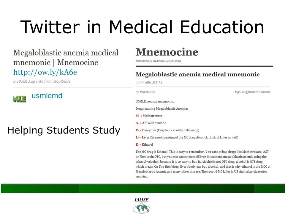 Twitter in Medical Education Helping Students Study