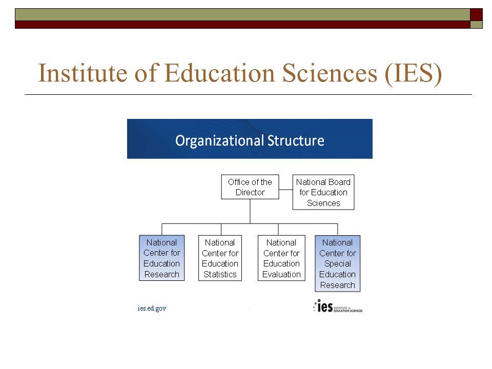 Institute of Education Sciences (IES)
