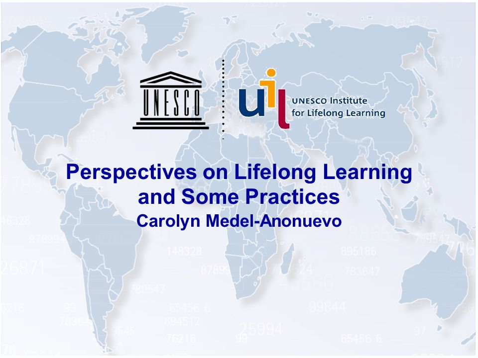 Perspectives on Lifelong Learning and Some Practices Carolyn Medel-Anonuevo
