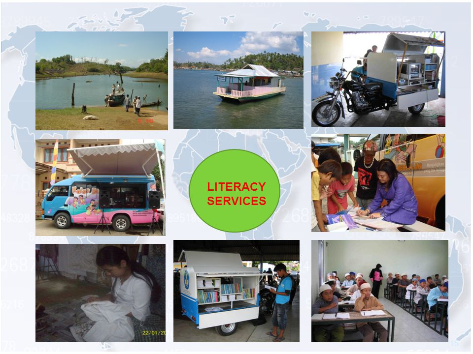 15 LITERACY SERVICES