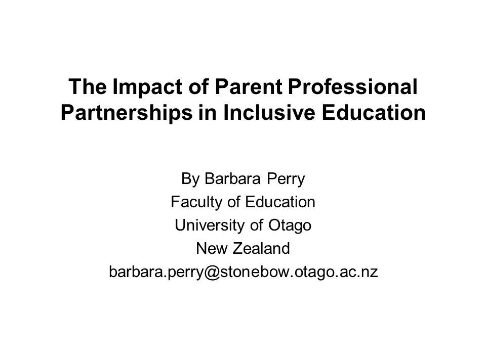 A Parents Perspective: Wills (1993, p.