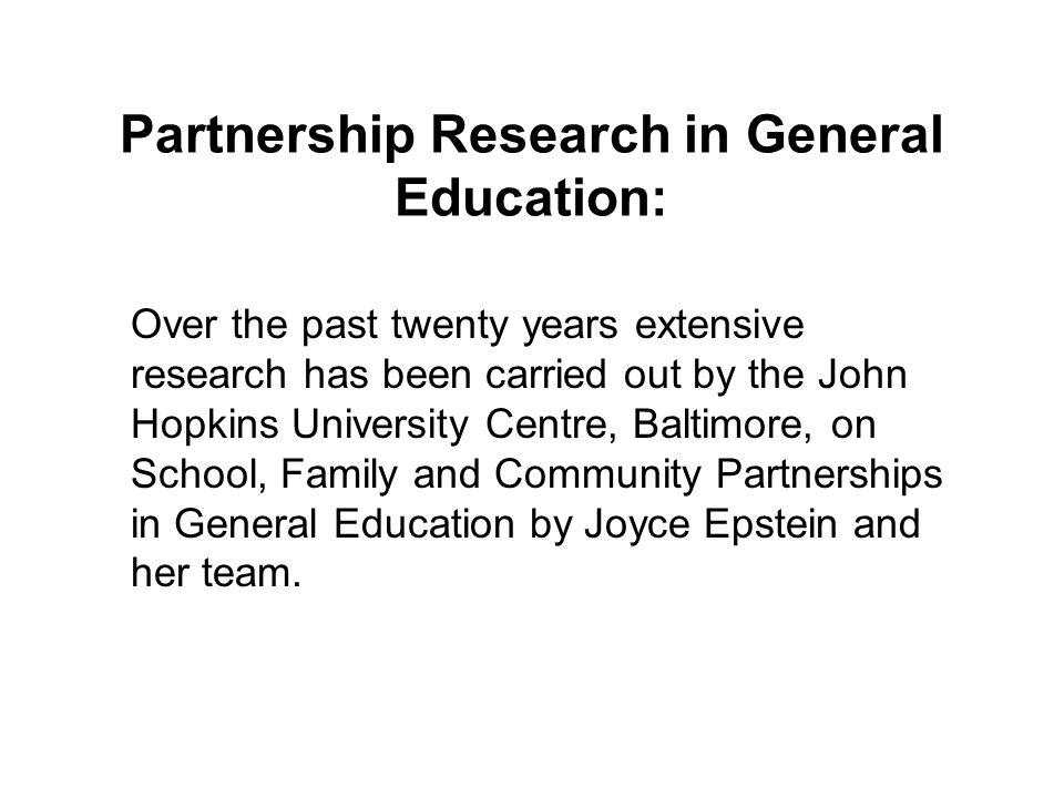 Epsteins Model of Home School Partnership: SCHOOL COMMUNITY FAMILY