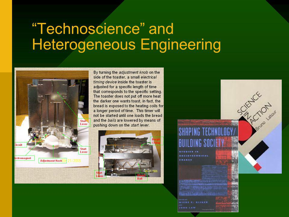Technoscience and Heterogeneous Engineering