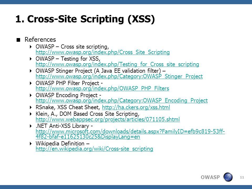 OWASP 11 1.