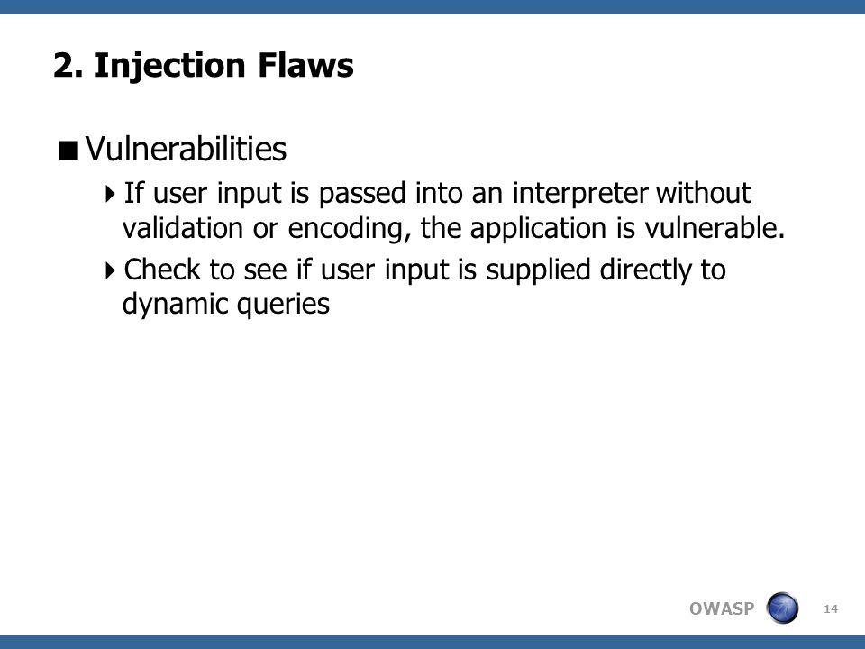 OWASP 14 2.