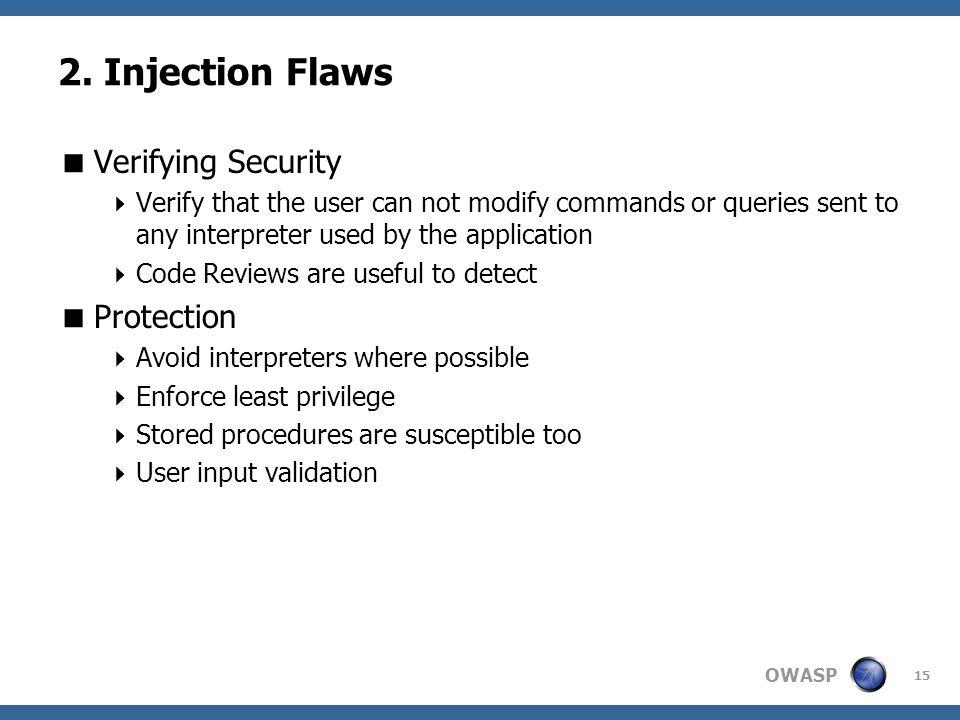 OWASP 15 2.