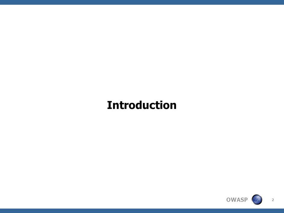 OWASP 2 Introduction