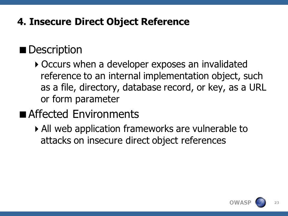 OWASP 23 4.