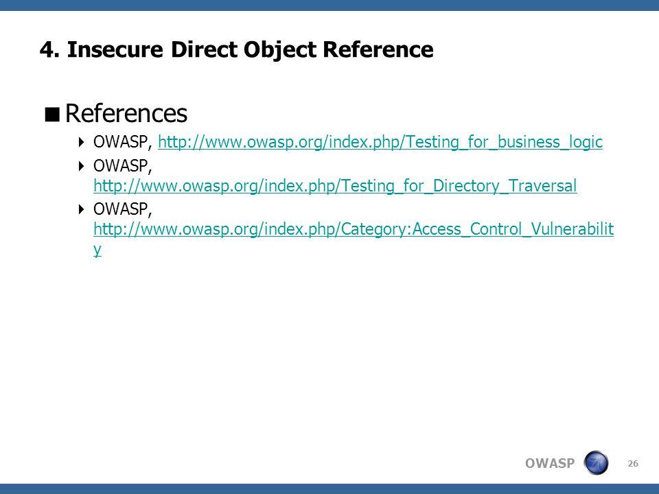 OWASP 26 4.