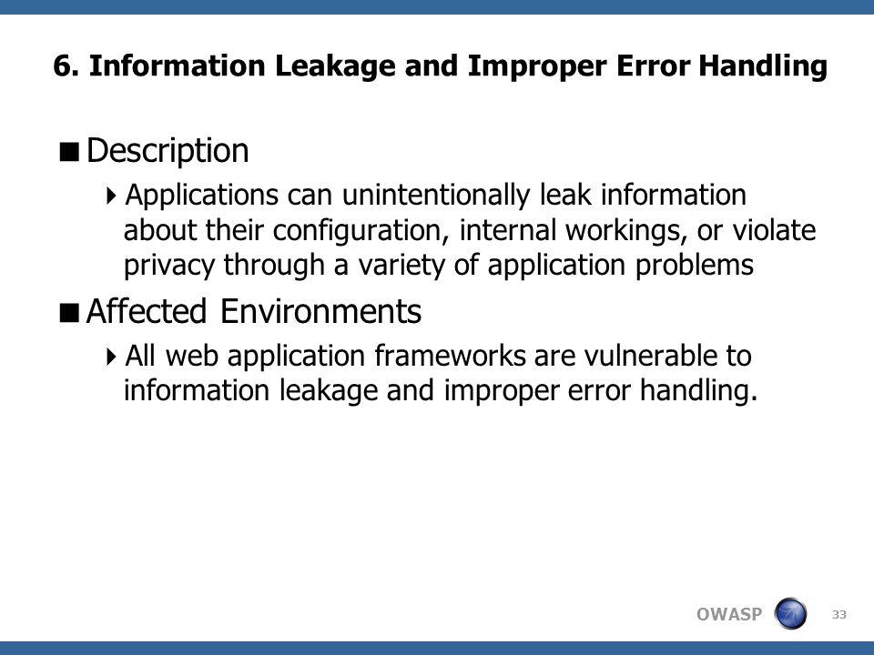 OWASP 33 6.