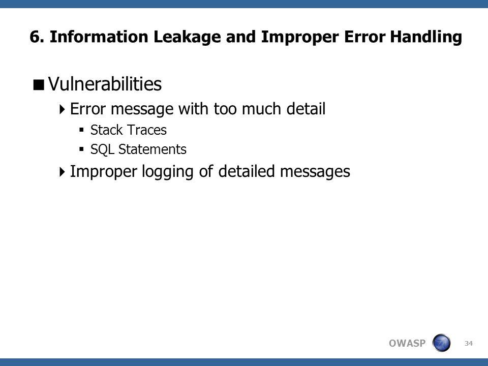 OWASP 34 6.