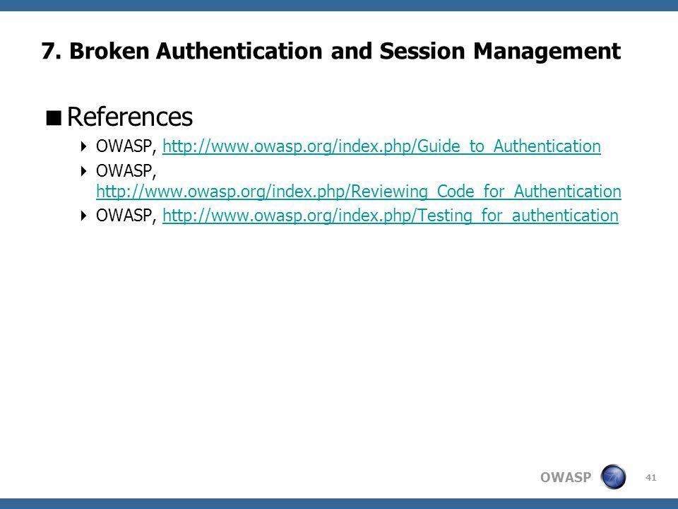 OWASP 41 7.