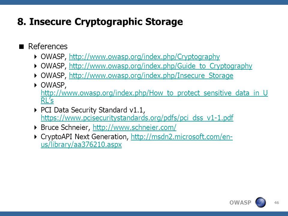 OWASP 46 8.