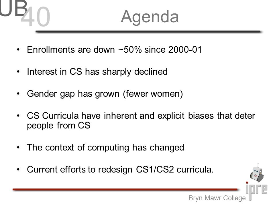 Crisis: Enrollment From: CRA Taulbee Survey Report 2005-06, March 6, 2007.
