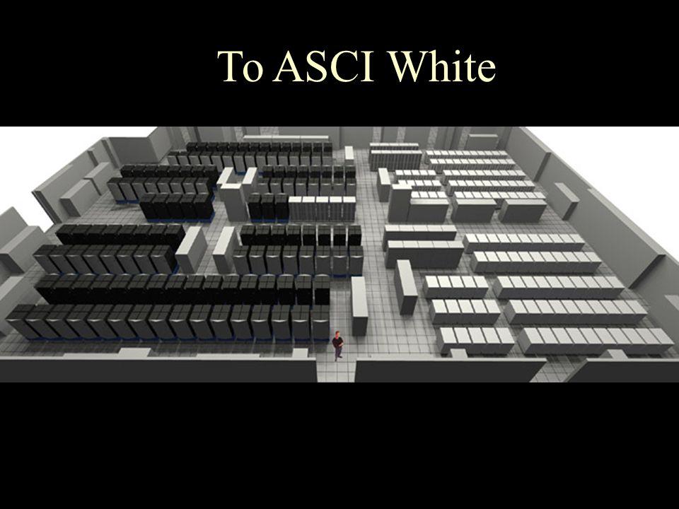 To ASCI White