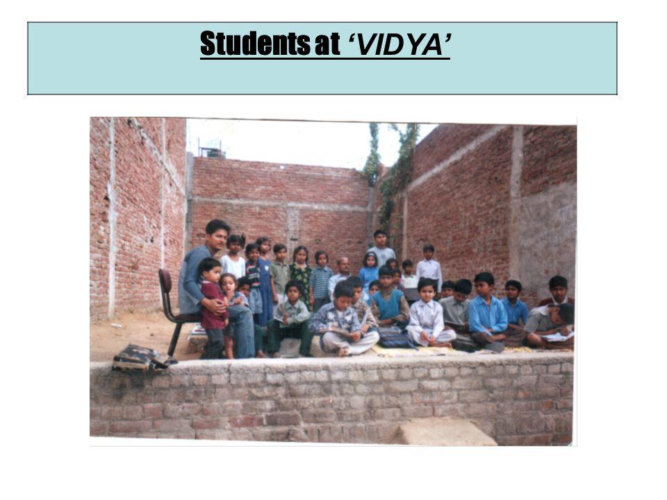 Students at VIDYA