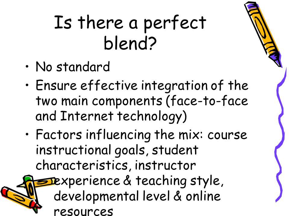 Why blend.