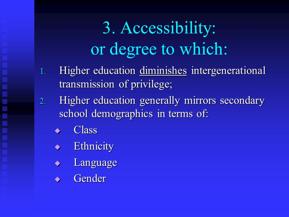 Challenges to (Problems of) Higher Education Worldwide 1.