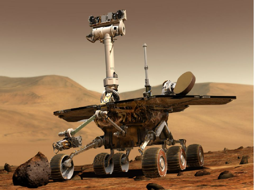 30 2003-2004 Missions to Mars Spirit launched 6/10/2003 arrived Jan 4, 2004 Gusev Crater in Gusev Plain Opportunity Launched 7/7/2003 arrived Jan 25, 2004 Meridiani Planum