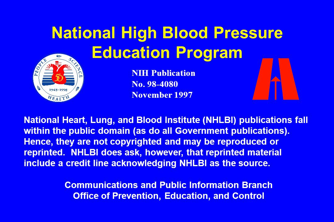 slide 43 Not at Goal Blood Pressure Initial Drug Choices Uncomplicated Compelling Indications Not at Goal Blood Pressure Algorithm for Treatment of Hypertension (continued) – Start at low dose and titrate upward.