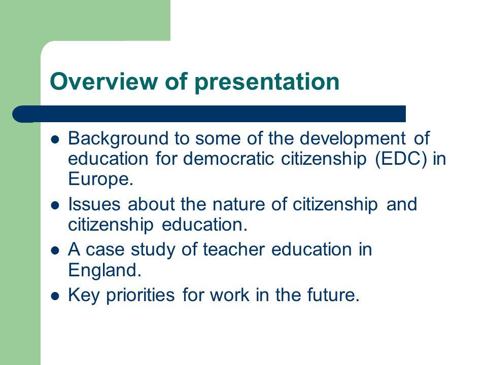 European Action Programmes: limited success A review of European action programmes (e.g.