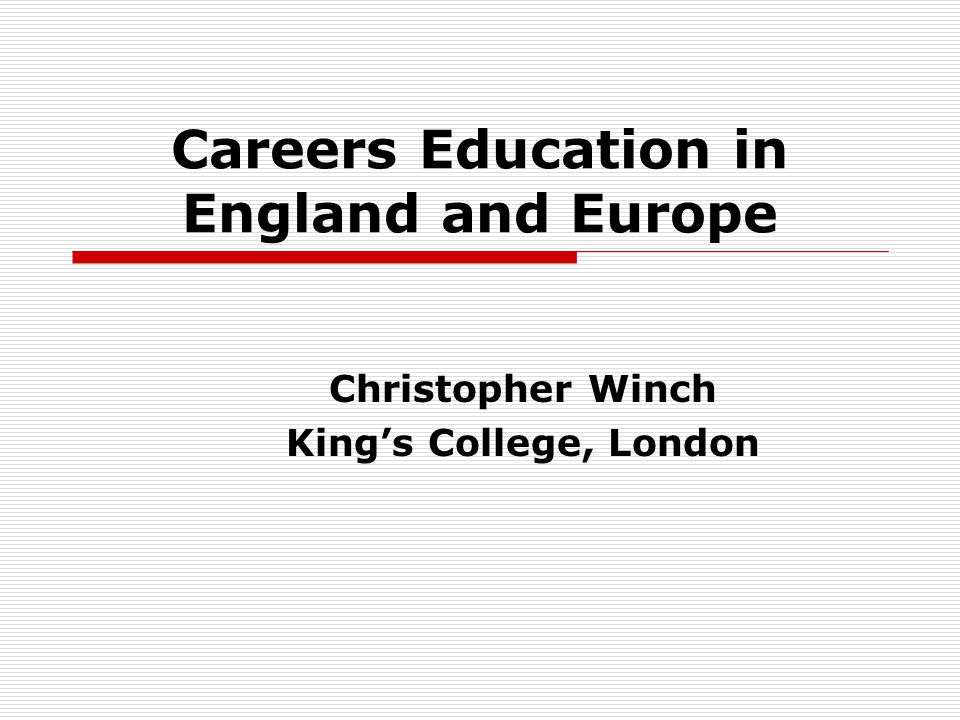 Careers Education in Austria 1 From the fifth school year onwards, school counsellors and career guidance officers are available to schoolchildren and parents who have questions about the school and career.