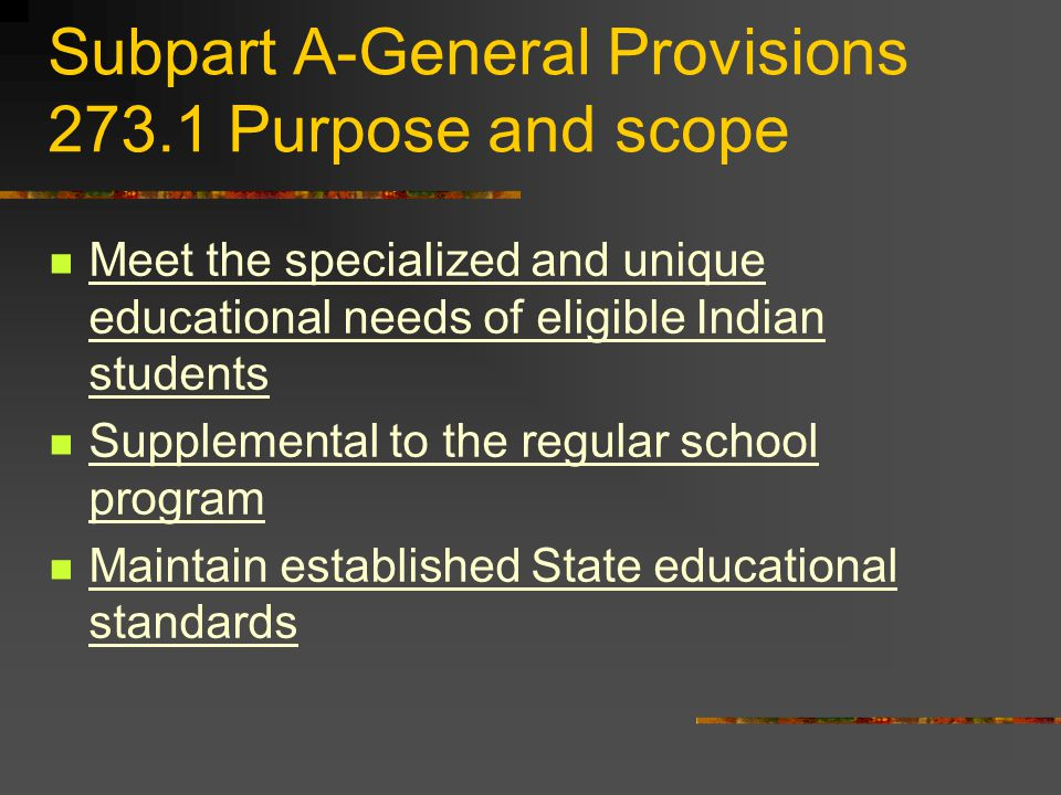 273.16 Powers and duties of Indian Education Committee Recommend: curricula, texts, materials, and teaching methods Approve budget preparation and execution Recommend criteria for employment in the program