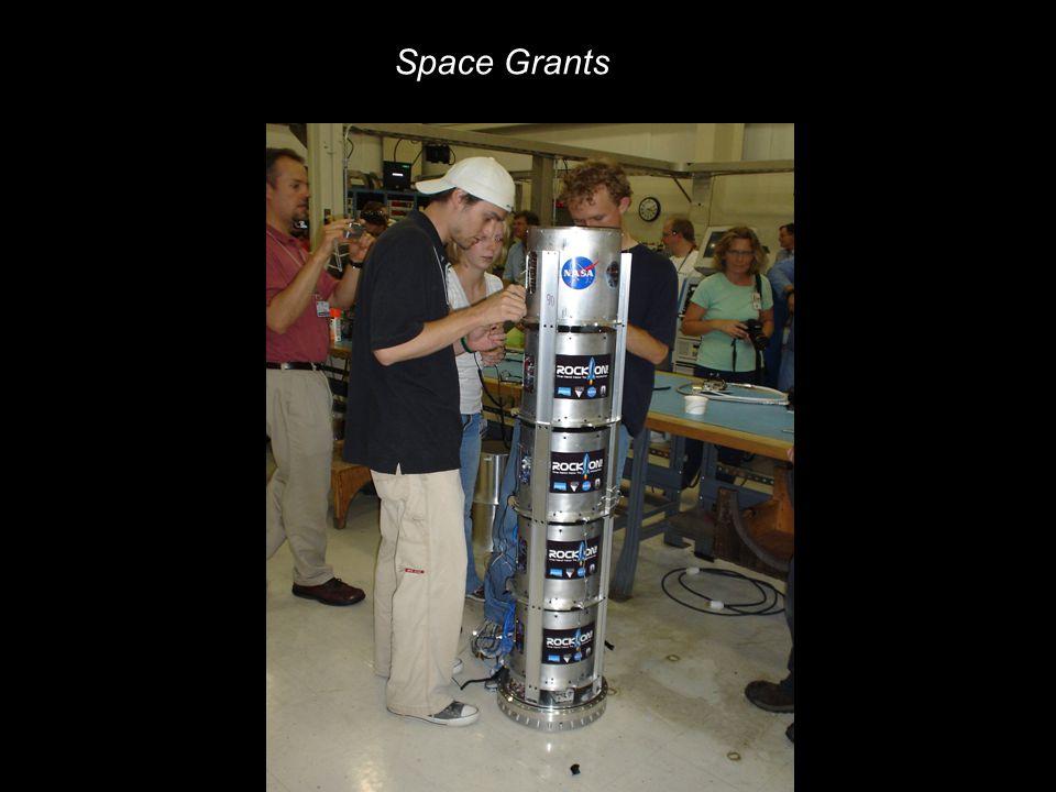 NASA Education 9 NASA Education – Reduced Gravity Research