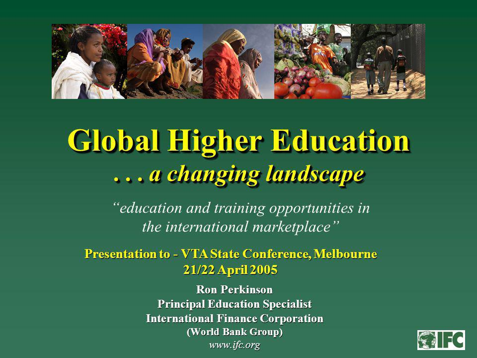 Global Higher Education...