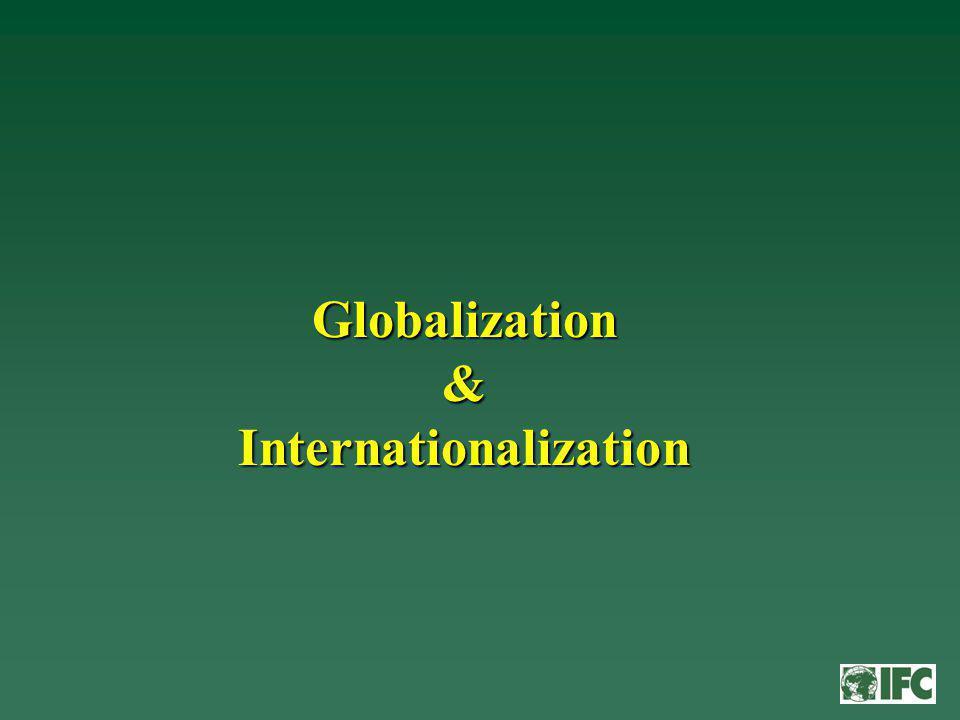 Globalization & Internationalization