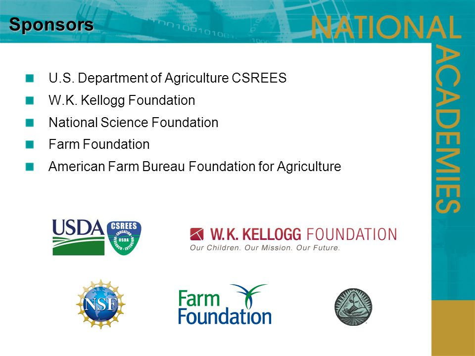 U.S. Department of Agriculture CSREES W.K.