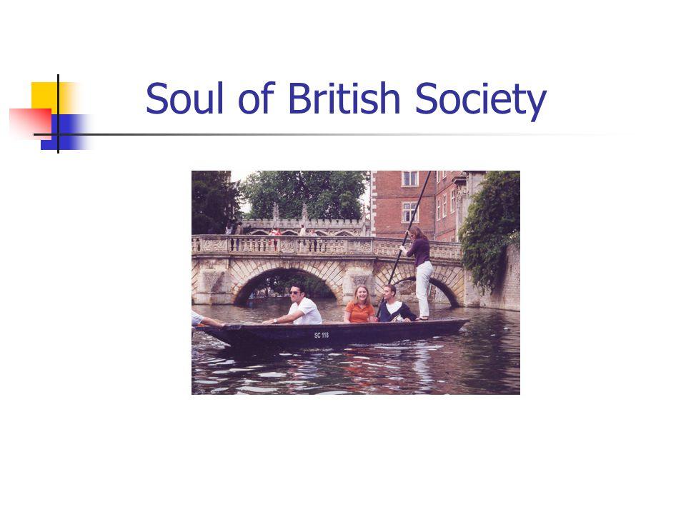 Soul of British Society