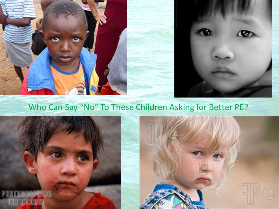 Who Can Say No To These Children Asking for Better PE
