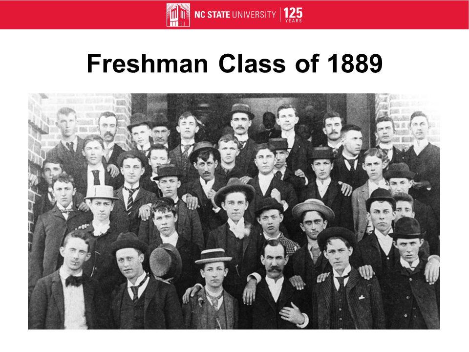 Freshman Class of 1889