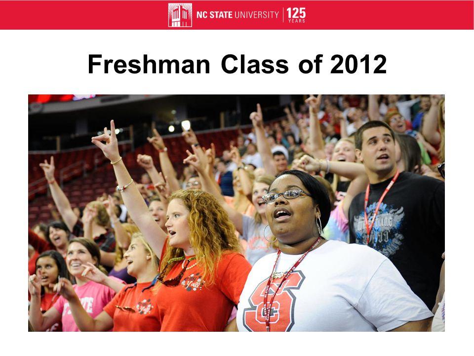 Freshman Class of 2012