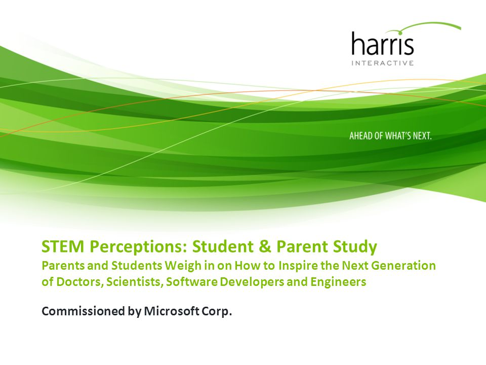 Introduction As part of its broader efforts to help improve STEM education, Microsoft Corp.