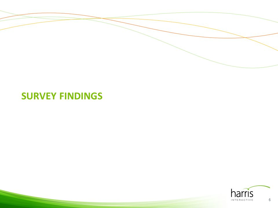 SURVEY FINDINGS 6