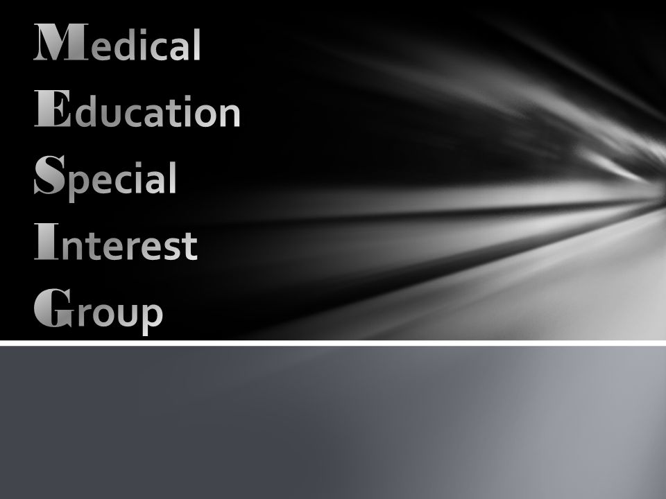 Interest in academic issues around medical education Individuals pursuing careers in medical education Research active groups and individuals Innovation in teaching across the curriculum Imperial has: