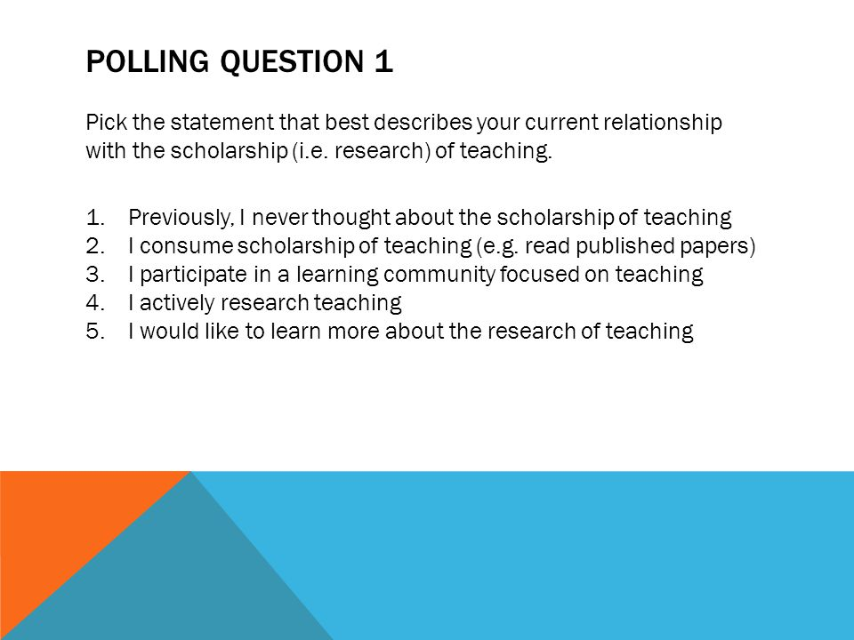 Agenda Why Should You Research Your Teaching? Action Research Sharing Your Action Research