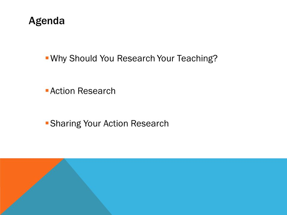 POLLING QUESTION 4 What is stopping you from doing action research .