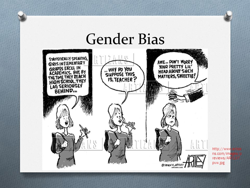 Gender Bias http://www.artiza ns.com/images/p reviews/ART137. pvw.jpg