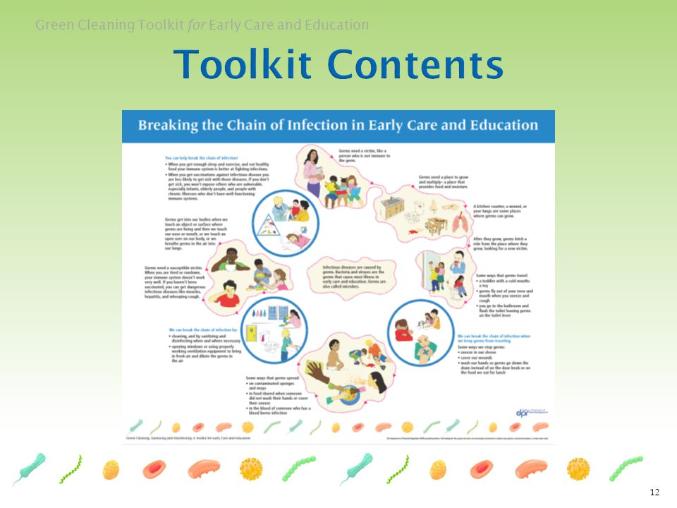 Green Cleaning Toolkit for Early Care and Education 12